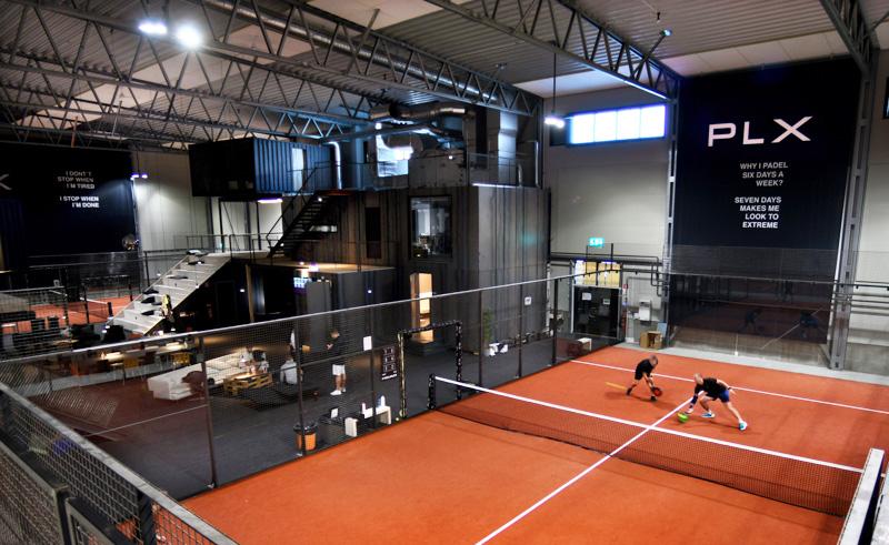 llentab padel tennis building - udevall