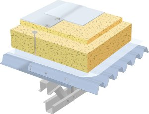 LLENTAB roof insulation type SPH