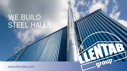 Introducing LLENTAB steel buildings