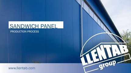 Production of LLENTAB sandwich panels